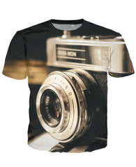 T-shirt - New Photographer Lens 3D T-Shirt #14