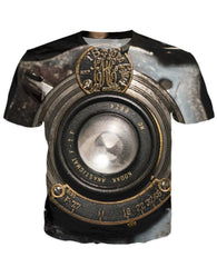 T-shirt - New Photographer Lens 3D T-Shirt #17