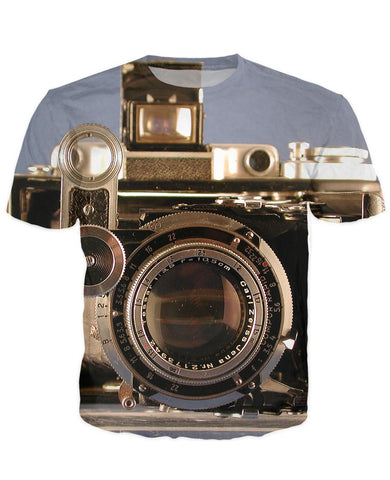 T-shirt - New Photographer Lens 3D T-Shirt #18