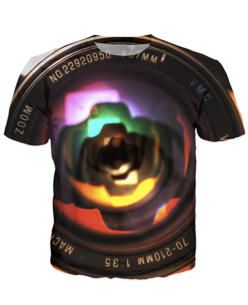 T-shirt - New Photographer Lens 3D T-Shirt #31