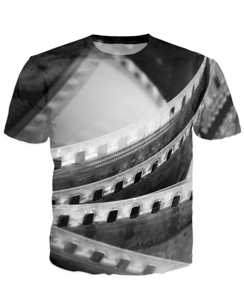 T-shirt - New Photographer Lens 3D T-Shirt #32