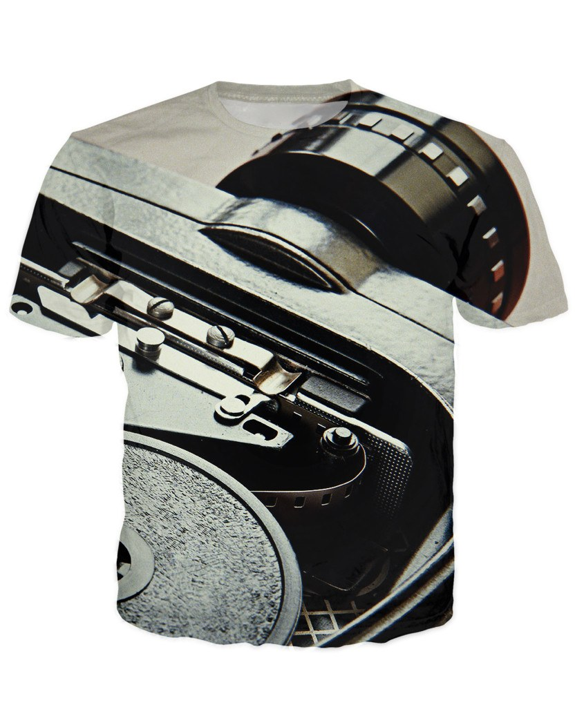 T-shirt - New Photographer Lens 3D T-Shirt #34