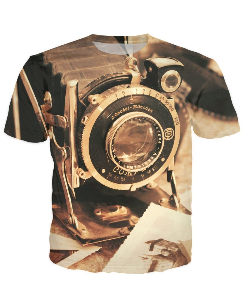 T-shirt - New Photographer Lens 3D T-Shirt #35