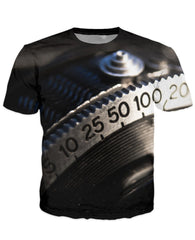 T-shirt - New Photographer Lens 3D T-Shirt #4