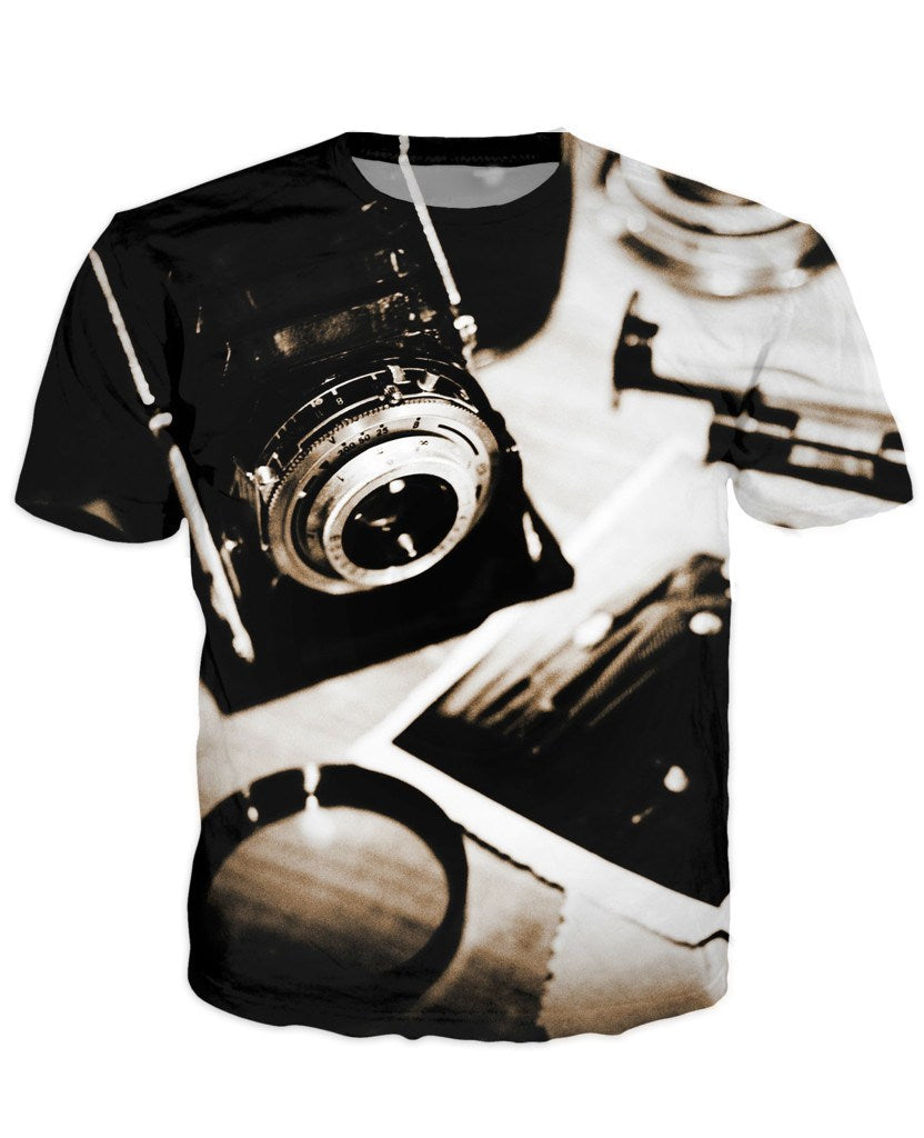 T-shirt - New Photographer Lens 3D T-Shirt #8