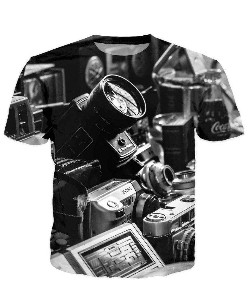 T-shirt - New Photographer Lens 3D T-Shirt #9