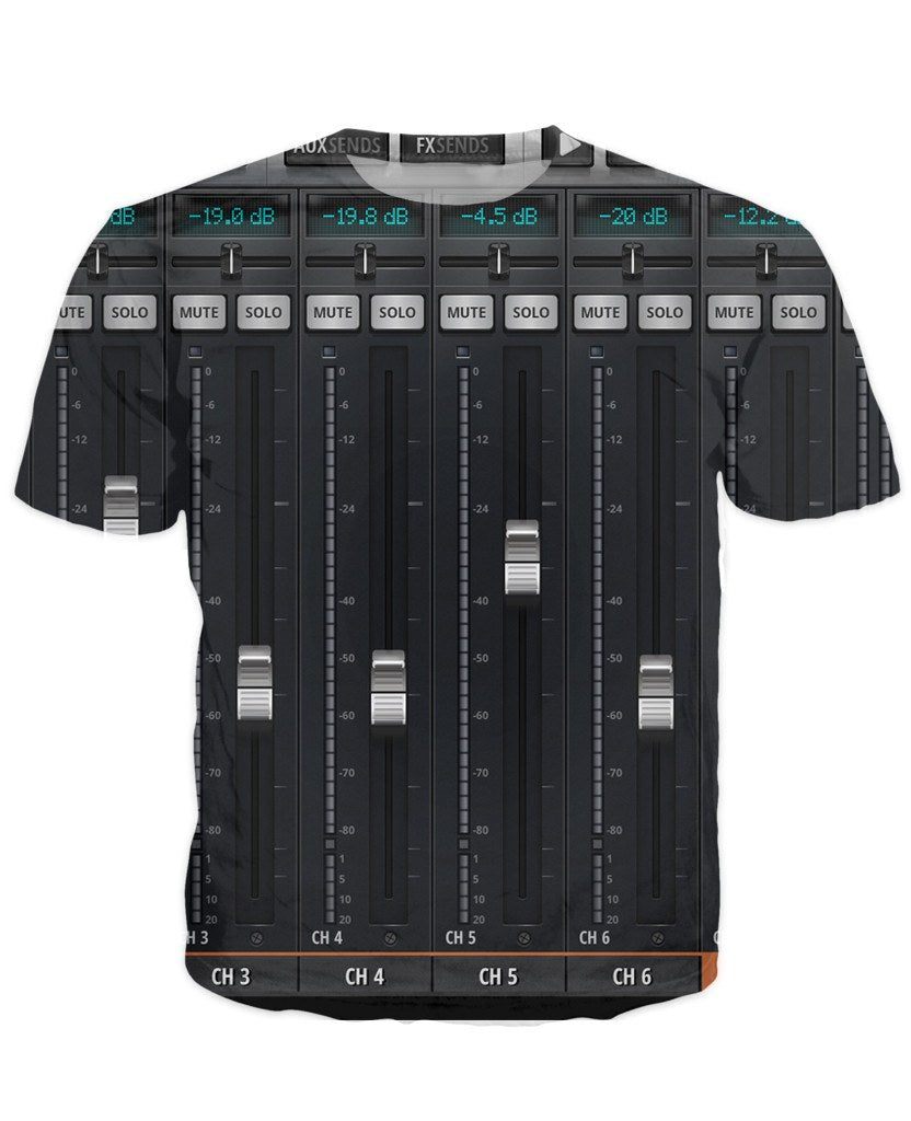 T-shirt - New Studio Master Dj 3D T-Shirt #10