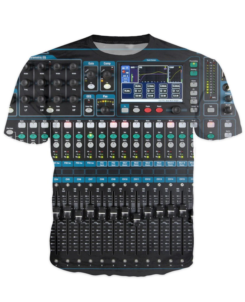 T-shirt - New Studio Master Dj 3D T-Shirt #14