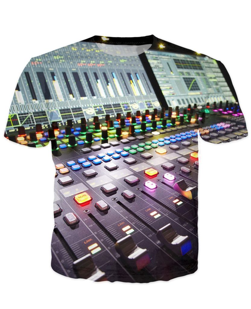 T-shirt - New Studio Master Dj 3D T-Shirt #5