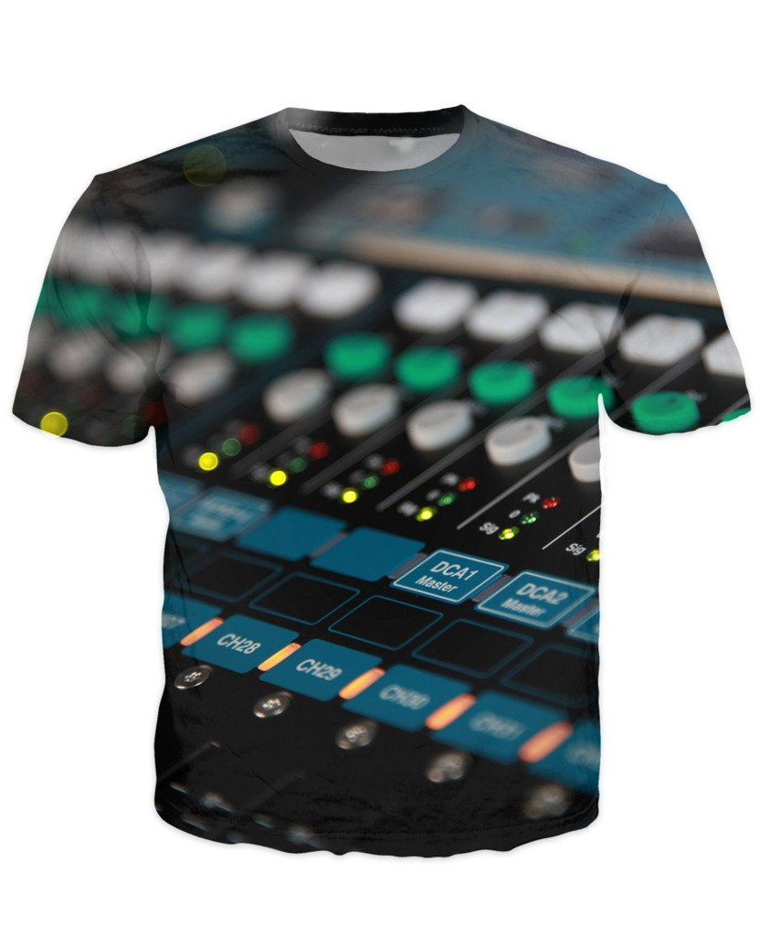 T-shirt - New Studio Master Dj 3D T-Shirt #6