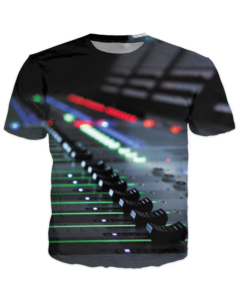 T-shirt - New Studio Master Dj 3D T-Shirt #8
