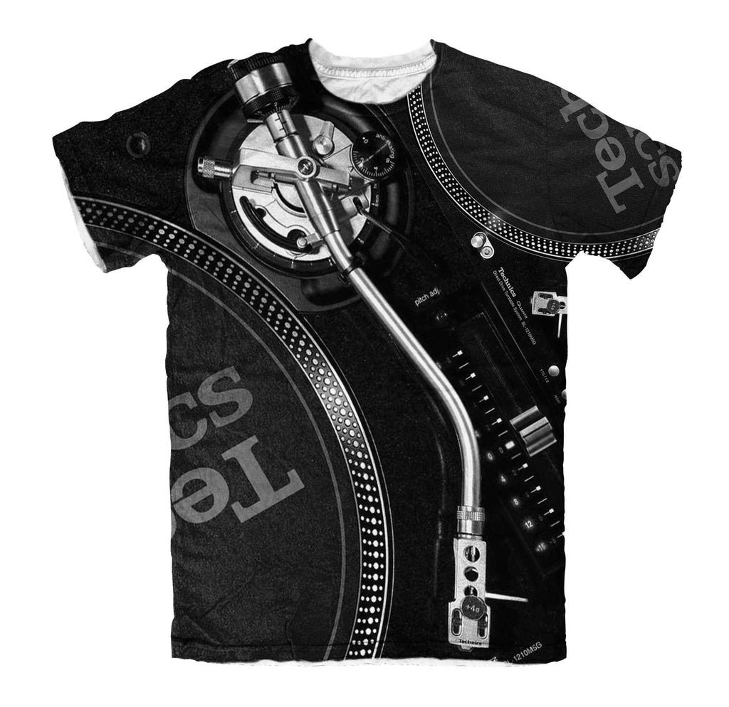 T-shirt - New Technics Vinyl Turntable DJ 3D T-Shirt #3