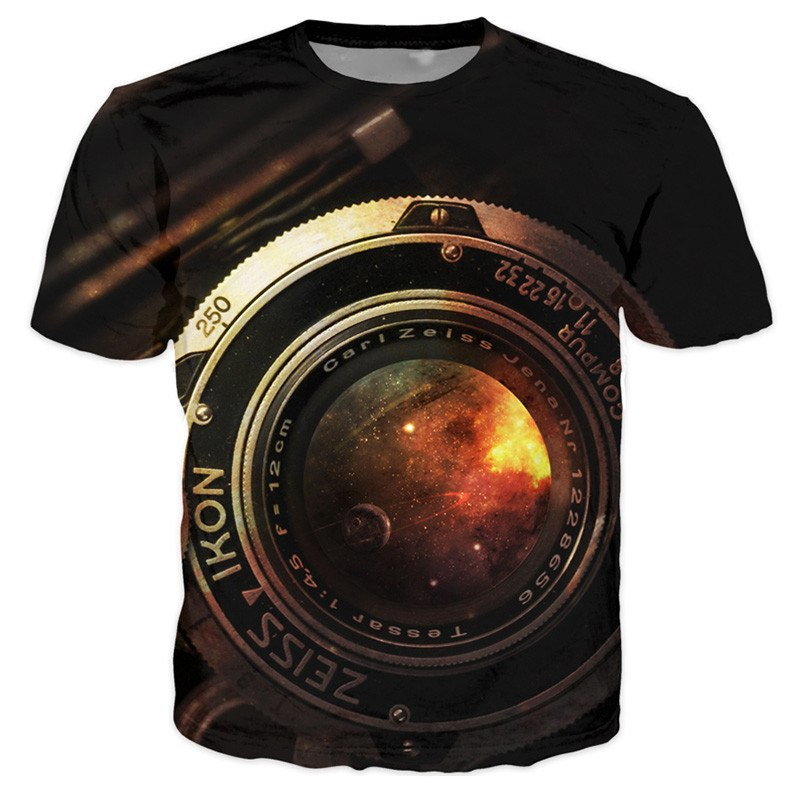 T-shirt - Professional Photograph 3D T-Shirt