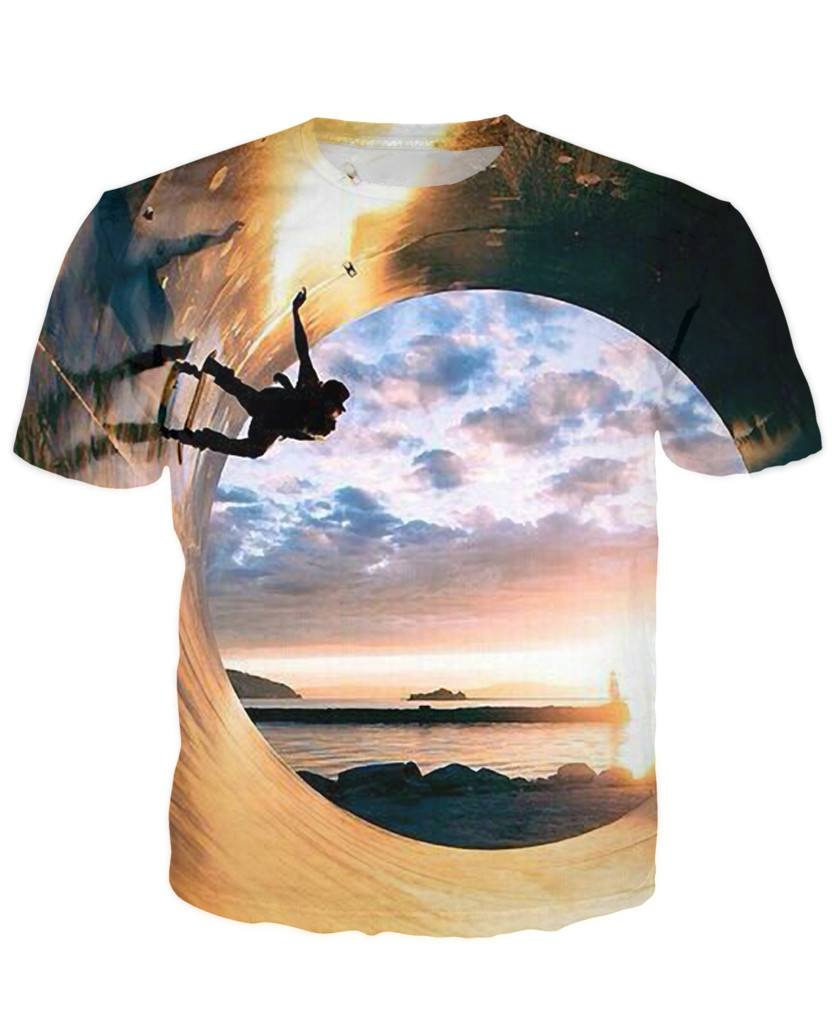 T-shirt - Skateboard Art 3D T-Shirt #2
