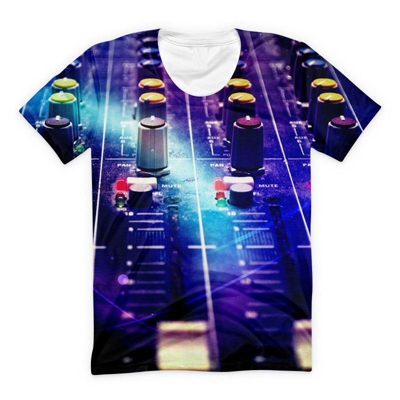 T-shirt - Studio Music New DJ 3D T-Shirt #5