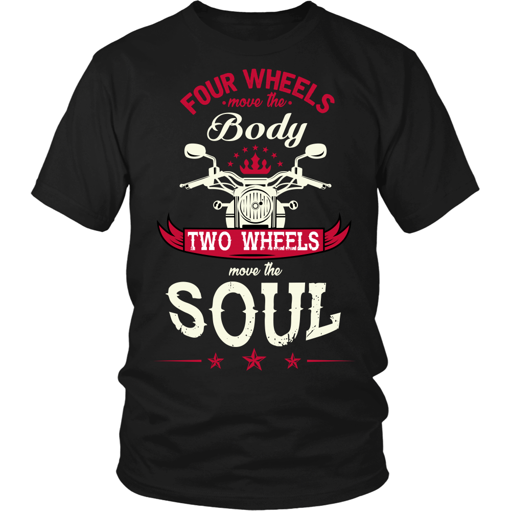 T-shirt - Two Wheels Move The Soul T-Shirt