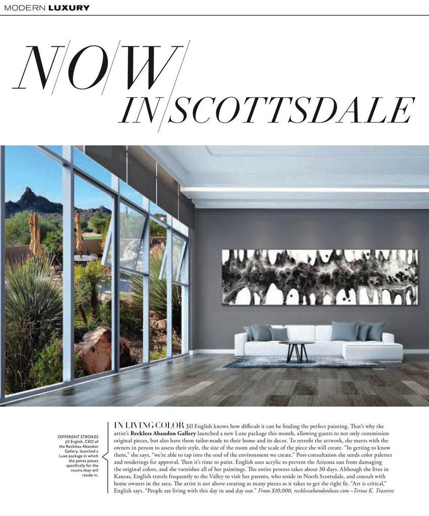 We've been featured in Modern Luxury Magazine