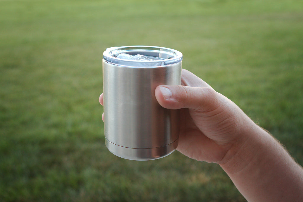 The Redneck Convent line of Stainless Steel Double Wall Insulated Tumblers will keep you cold beverages colder longer.