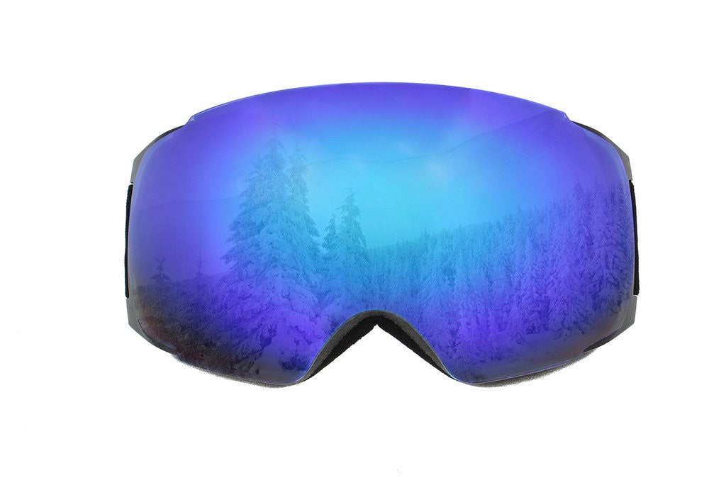 Wearing Snowboard/Ski Goggles is a Must!