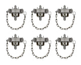 Coil Spring Coon Trap 6-Pack � Duke #1-1/2 CS Model 0470