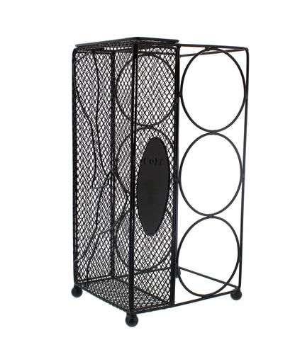 3 Bottle Wine Rack & 100 Cork Holder Cork Collector Catcher Cage