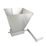 Grain Mill Grinder Roller Manual Hand Crank Barley Wheat Malt Crusher