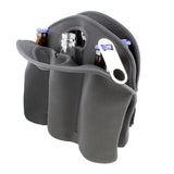 6 Pack Cooler Beer Holder with Beer Bottle Opener Keychain, Neoprene