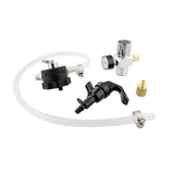 Mini Growler Dispenser Kit - CO2 Regulator with 2 Ft Hose and Spout