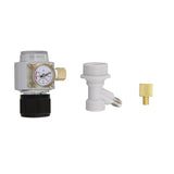 CO2 Keg Charger Keg CO2 Regulator � Keg Regulator, Adapter, Disconnect