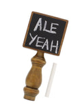 Chalkboard Beer Tap Handle