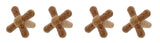 Wine Bottle Stopper, Natural Cork 4-Pack