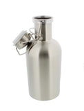 Beer Growler - 1 Liter, 33 Ounces - Stainless Steel