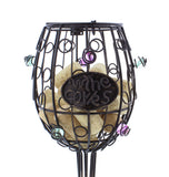 Wine Glass Cork Holder � 12� Inch, 45+ Cork Collector Catcher Cage