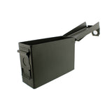 30 Cal Metal Gun Ammo Can Military Box Shotgun Rifle Ammo Storage