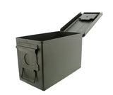 50 Cal Metal Gun Ammo Can 1-Pack Military Shotgun Rifle Storage Box