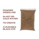 Logwood Trap Dye – 2 Pound Black Logwood Dye for Trapping Bag Set