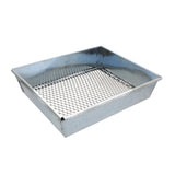 Trapping Sifter – 9 by 7 Inch Metal Dirt Sifter Trapping and Gardening