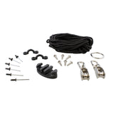 Kayak Anchor Trolley Kit – Steel Canoe Pulley Anchor Kayak Accessories