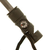 Emergency Magnesium Survival Outdoor Fire Starter with Whistle & Compass