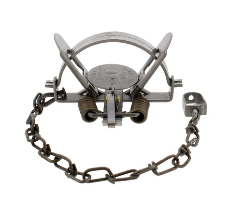 Coil Spring Coon Trap 1-Pack � Duke #1-1/2 CS Model 0470
