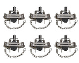 6� Inch Animal Leg Trap 6-Pack � Duke #3 CS OS Offset Jaw Model 0501