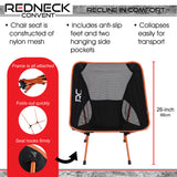 Portable Lightweight Folding Camp Chairs 2pk Low Outdoor Camping Chair
