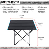 Folding Camping Table Outdoor Lightweight Small Camping Table and Bag