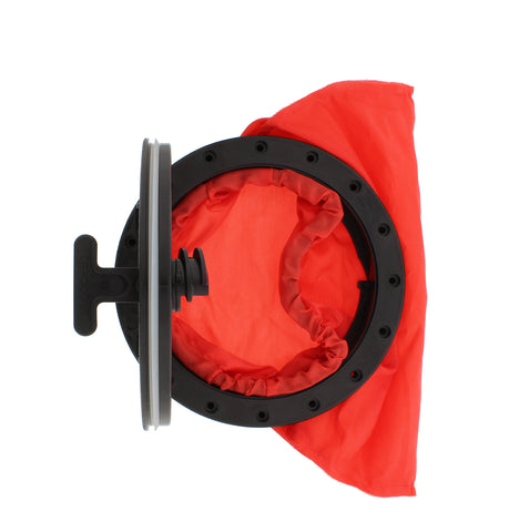 """Kayak Deck Plate Hatch Bag 6.4"""" Inch Watertight and Water-Resistant Storage"""