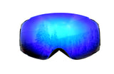 Snowboard Ski Goggles with Blue Magnet UV Anti-Fog Spherical Lens