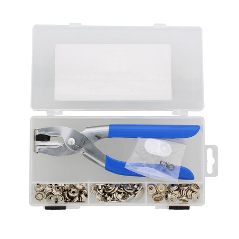 Snap Pliers Set � Canvas Fabric & Marine Button Fastener Installation