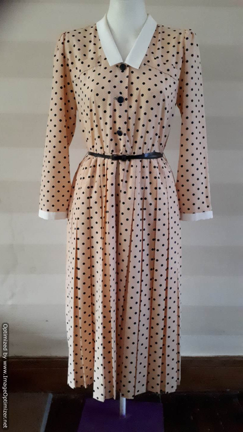 Vintage Apricot Dress from Forties to Noughties