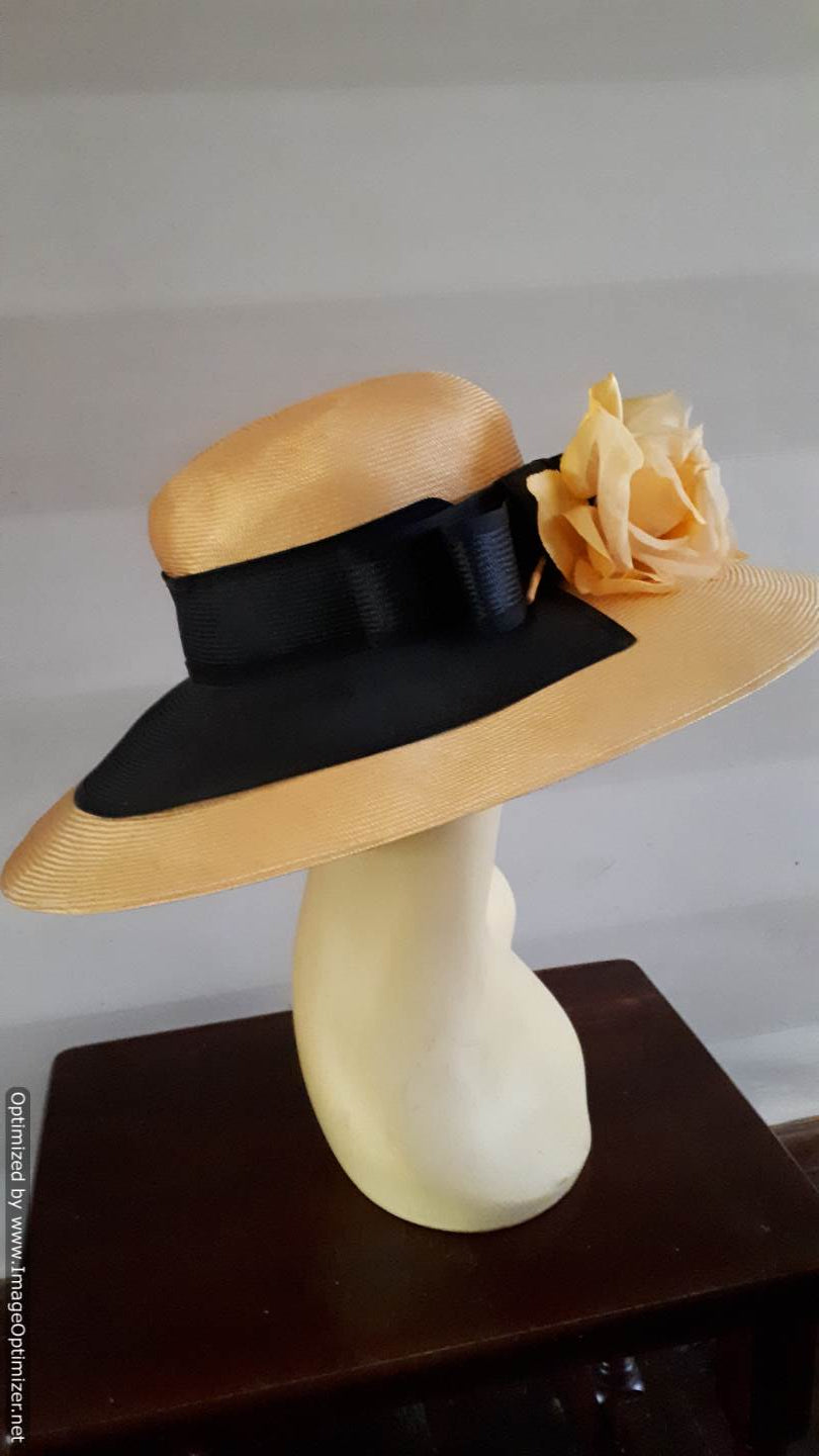 Vintage Kangol Wide-brimmed Hat by Anne Marie