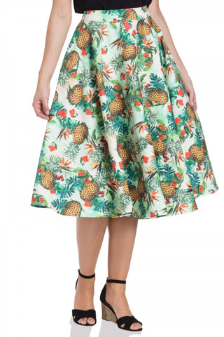 Sammy tropical skirt by Voodoo Vixen
