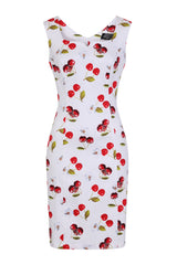 Sweet Cherry Wiggle Dress by Hearts & Roses